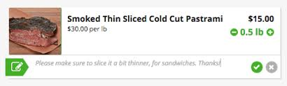 Deli Slice Thickness Chart How Do You Like It Sliced