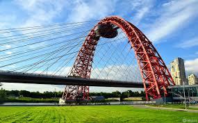 Живописный мост в Москве фото смотровая площадка легенды zoom icon