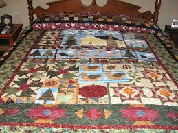 61 best Minnesota Fabric Quilt Ideas! images on Pinterest ... & Minnesota Memories pieced with fabrics from Minnesota Shop Hop...Pattern by  Helen Thorn Adamdwight.com