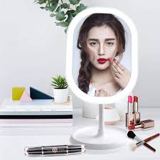 Mirror With Lights Ebay Details About Led Lighted Makeup Mirror With Lights Rechargeable Portable Vanity Mirror