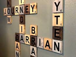 diy name wall decor scrabble wall art ideas on on diy baby room decorations cool adorable