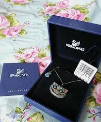 swarovski cheshire cat necklace