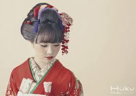 前髪ありの新日本髪も可愛らしくて額を出したく無い方にはオススメです