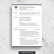 create a modern resume template with word doctor resume template for word medical resume download