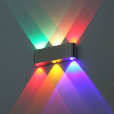 Multi Color Wall Light 2019 Modern 6w Wall Light Multi Color Up Down Sconce Lighting Spot Lamp Fixture Led From Peter042 25 13 Dhgate Com