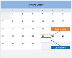 Calendario 2019 En Excel Plantilla Gratis Y Lista Para Imprimir