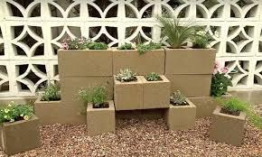 garden blocks. Cinder Block Vertical Garden Main Image Blocks