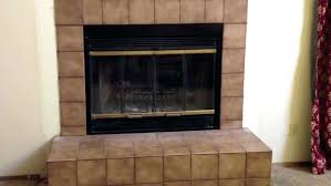 fireplace door insulation stone fireplace insulation cover home depot