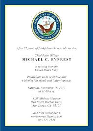 military retirement invitations retirement invitations for teachers military invitation at ease created by v retirement party