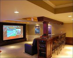 basement rec room ideas. Simple Room Rec Room Idea  Huge Tv Sectional And Table Bar Stools Behind The Sofa To Basement Room Ideas M