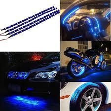 Automotive Led Light Strips Mesmerizing 32pcs Car Motors Truck Flexible LED Strip Lights 32V Waterproof 32CM