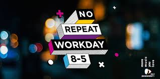 The No Repeat Workday Now From 08 00 17 00 On Jacaranda Fm