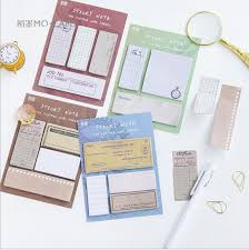 vine grid paper old book gear feather clock n times sticky note diy planner index label message craft paper writing card 6018 in memo pads from office