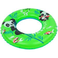 """<b>Надувной круг</b> 51 см с принтом """"Панда"""" для детей 3–6 лет NABAIJI"""