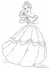 Come Si Disegna Belle Di La Bella E La Bestia Tutorial Per Disegnare