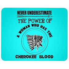 Amazon Com Im A Cherokee Great Gift Idea Mousepad Power