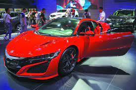 Trumpchi extended range hybrid car. China S Car Market Taps The Brakes Chinadaily Com Cn