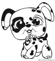 Colorare Littlest Pet Shop Disegno Un Cucciolo Di Dalmata