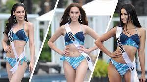 ชมภาพชุดว่ายน้ำ มิสยูนิเวิร์สไทยแลนด์ 2020 ประชันหุ่นปัง
