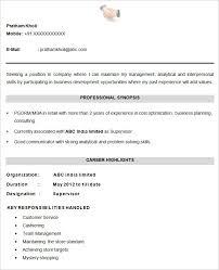 Latest Cv Formats Free Free Resume Format Download As Resume Maker