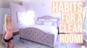 How To Keep Your Room Clean! Habits For A Clean Room   YouTube