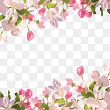 spring flowers png vector psd and