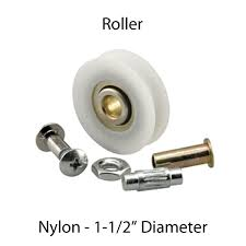 roller sliding patio door nylon ball bearing 1 1 2 inch diameter