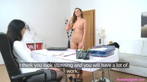 Female Agent Video Castings For a Porn Job