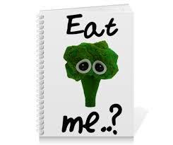 Тетрадь на пружине Eat me..? #2514309 от FireFoxa - <b>Printio</b>