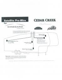 cedar creek pre wire for winegard traveler forest river forums for the pre wired units the installation is really simple only took the daughter and i about an hour so just the instructions