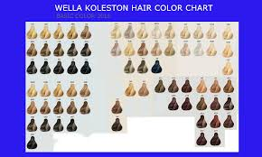 Well Hair Color Chart 80 Expert Wella Koleston Perfect Color