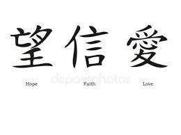 Geloof Hoop Liefde Stockvectors Rechtenvrije Geloof Hoop Liefde