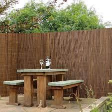 willow fence screening rolls garden gear