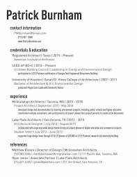 Resume | Patrick Burnham Design
