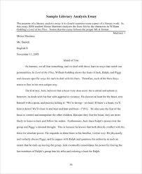 7 Literary Analysis Templates Pdf Word Free Premium