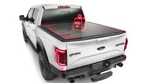 WeatherTech AlloyCover - Hard Tri-Fold Pickup Truck Bed Cover - YouTube