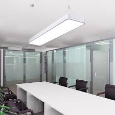 luxury study office modern led ceiling pendant lamp rectangle suspended pendant light fixtures home white light office zdd0039 in pendant lights from lights