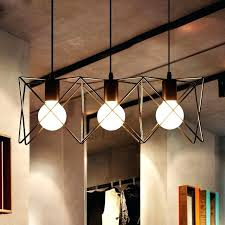 modern industrial lighting 3 light within pendant inspirations 0