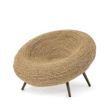 Seagrass Rope Bowl Chair