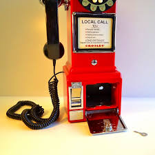 american crosley 1950 s retro wall phone red crosley cr56 re 1950 s wall pay phone red telephones