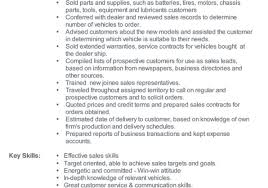 Good Sales Resume Examples Resume Template