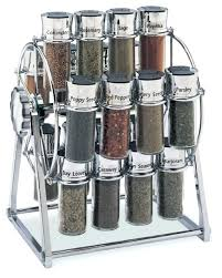 modern spice storage jar wheel spice rack modern spice jars and modern  spice rack set