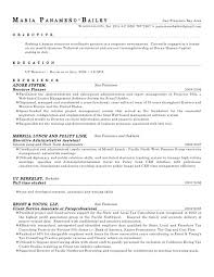Sample paraprofessional resume objective