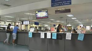 dmv office. Contemporary Dmv Drivers Disgruntled By Computer Failures At California DMV Offices Intended Dmv Office C