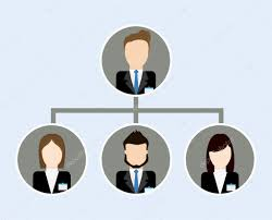 Org Chart Graphic Organization Chart Icon Business Design Vector Graphic