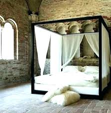 Four Poster Bed Frame Ikea Canopy Beds King King E Metal Canopy Bed ...