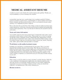 Medical Assistant Resume Example Medical Assistant Resume Objective ...