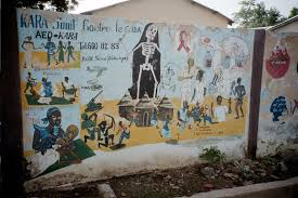 AIDS Wall Murals in Kara, Togo
