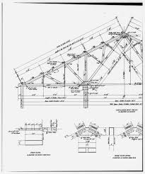 Photocopy of drawing ammonia leaching plant roof truss