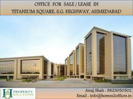 office on sale offices for sale lease in titanium square s g highway ahmedabad
